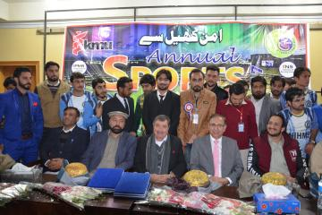 05.Former World Squash Champion Qamar Zaman and VC KMU Prof Dr Arshad Javed along with others during Inaugural Ceremony of KMU 3rd Sports Gala 2017 (Custom)1513065080.JPG