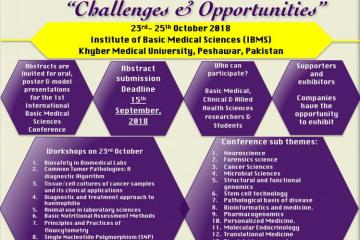 1st International Conference on Basic Medical Sciences